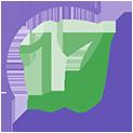логотип типографии 17