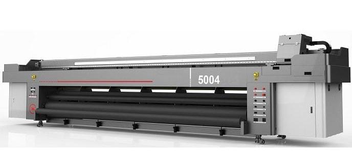 Печатное оборудование: ZeonJet 5004 StarFire